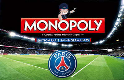 Monopoly PSG - Paris Saint Germain